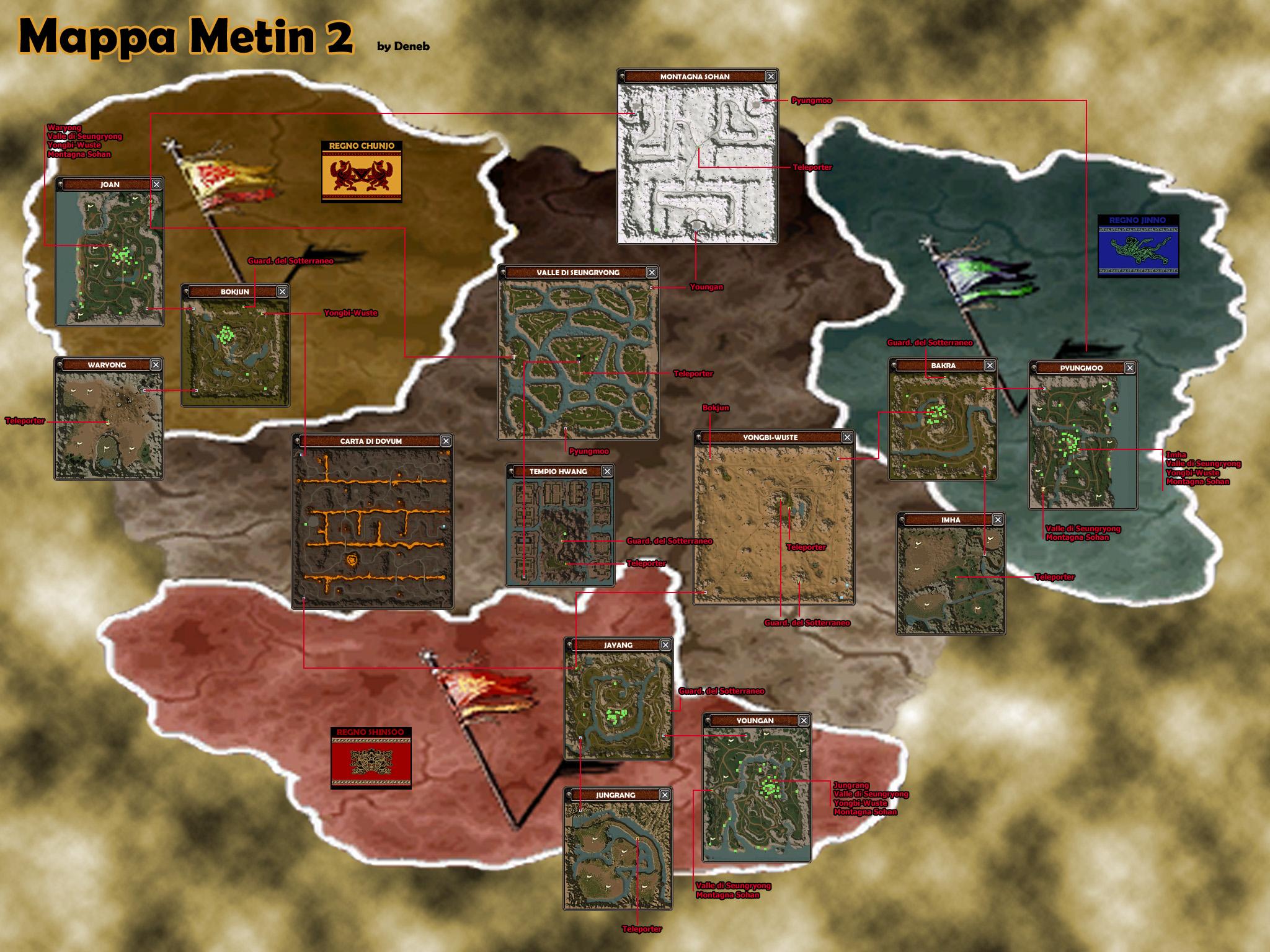 Metin2 u.u el mejor juego MappaMetin2DENEB